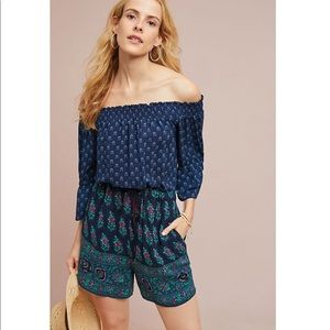 NWT Anthropologie ett:twa Kaleo Romper Large